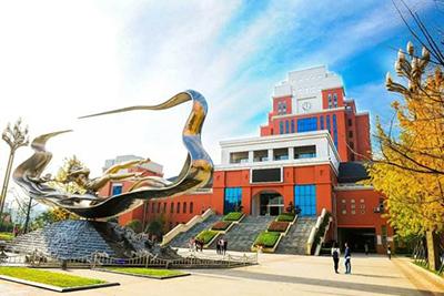 四川文化产业职业学院-校园一角